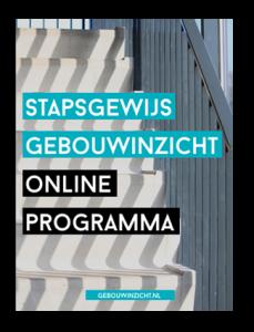 stapsgewijs gebouwinzicht online programma sannie verweij