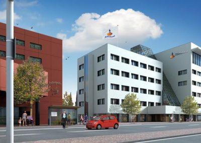 Rabobank Tilburg BREEAM-NL Nieuwbouw certificaat