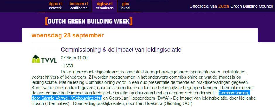 Dé DGBW-bijeenkomsten voor huisvestingsmanagers