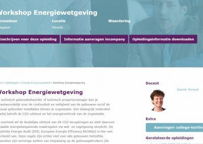 Helix Academy Workshop Energiewetgeving